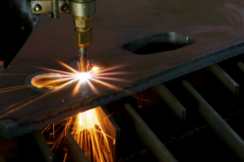 cutting steel